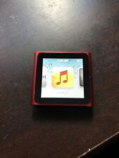 Apple iPod nano 6th Generation Red (16GB) RARE! Great shape Product Red