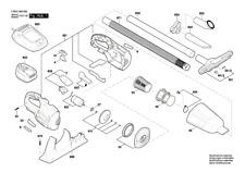 Bosch Akku-handstaubsauger Pas 18 Li mit 1x Akku