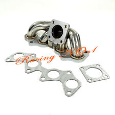 for Toyota Starlet EP82 EP91 4EFTE Stainless Steel Turbo Manifold Exhaust Header