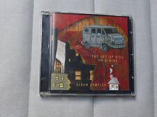 The Get Up Kids On a Wire Promo sampler 3 trk  CD  + video Jimmy Eat World Emo
