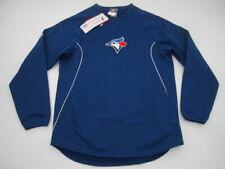 Mens Medium Toronto Blue Jays Majestic Authentic Therma Base blue sweater NWT