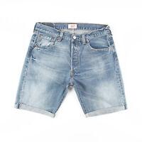Vintage LEVI'S 501 Blue Regular Casual Denim Shorts Mens M W33