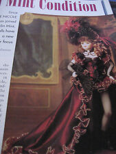 5p Maryse Nicole Franklin Mint Doll MAGAZINE Article IN MINT CONDITION
