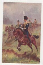 Royal Horse Artillery Bringing Up The Guns British Military 1906 Postcard US080