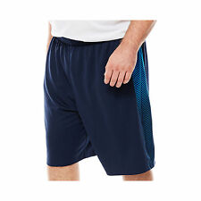 Foundry Supply Co.-Panel Basketball Shorts , BIG& TALL Size: 4XL ,Indigo Blue