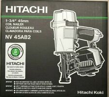 Hitachi NV45AB2 Coil Roofing Nailer Nail Gun NEW in Box