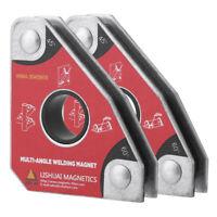 2Pcs Équerre Multi-Angle Supports Aimants de Soudage en NdFeB Taille Compacte