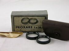Rolleiflex Carl Zeiss Jena Proxare 1x28,5 close up lens kit boxed