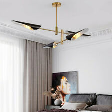 Large Chandelier Lighting Bedroom Lamp Black Pendant Light Kitchen Ceiling Lamps