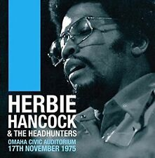 HERBIE HANCOCK/THE HEADHUNTERS - OMAHA CIVIC AUDITORIUM, 17TH NOVEMBER, 1975 NEW