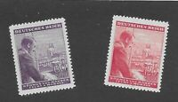 MNH Stamp complete set / Adolph Hitler / 1943 Birthday / WWII Germany Occupation