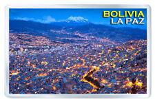 BOLIVIA LA PAZ FRIDGE MAGNET SOUVENIR IMAN NEVERA