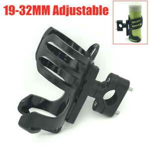 19-32MM Adjustable Motorcycle Cycling Pipe Clamp Water Bottle Cup Holder Mount