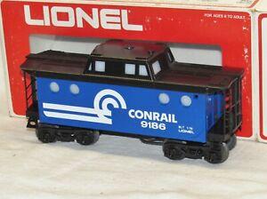 Lionel 6-9186 Conrail Porthole Lighted Caboose O Gauge