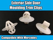 100x Clips para Mercedes Sprinter Ribete Exterior Lateral moldeo puerta de plástico blanco