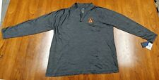 Atlanta United Fanatics Brand XXXL Heather Gray 1/4 zip pullover sweater NWT