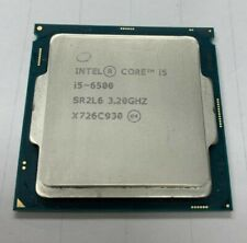 Intel core i5-6500 3.20GHZ 4 core CPU