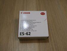 Canon ES-62 Lens Hood Genuine Original for Canon EF 50mm f/1.8 II