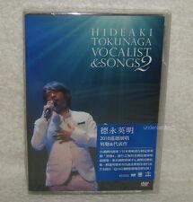 Hideaki Tokunaga CONCERT TOUR 2010 VOCALIST Taiwan DVD