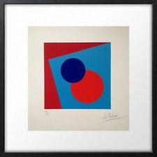 LUCIENNE OLIVIERI (1910-2007) RARE LITHOGRAPHIE ORIGINALE ABSTRACTION (5)