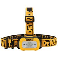 DeWalt DWHT81424 200 Lumen AAA IP54 Rated Headlamp with Anti-Slip Strap