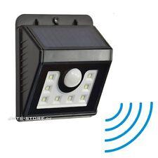 LED Solar Wandleuchte PIR Spot mit Bewegungsmelder Licht Leuchte Beleuchtung NEU