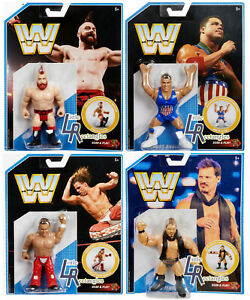 WWE Figures - Retro Series 7 - Mattel - Brand New - Sealed - SHIPPING COMBINES