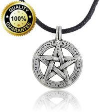 Sobrenatural Pentáculo Pentagrama Colgante Collar de hombres.. estrella de protección de la bruja