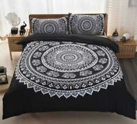3D Black And White Pattern KEP7006 Bed Pillowcases Quilt Duvet Cover Kay