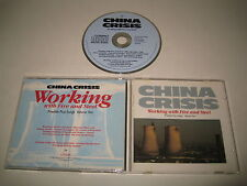 CHINA CRISIS/WORKING WITH FIRE AND STEEL(VIRGIN/CDV2286)CD ALBUM