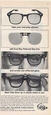 1965 Polaroid PRINT AD Vintage Sunglasses Styles