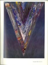 KENNETH NOLAND IN PARIS 1984 Galerie de France, Rare Painting Catalogue $400+ up