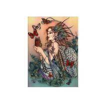 Ceramic Sensations Tile Free Flight Fairy Faerie Wall Art Linda Ravenscroft