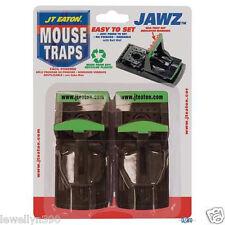 JAWZ Reusable Mouse Mice Snap Traps 2pk Easy Set  TRAP