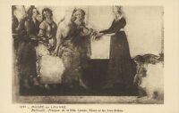 Art - cpa - Musée du Louvre - Fresque de la villa Lemmi par BOTTICELLI