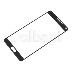Front Glass For Samsung Galaxy Note 4 Grey