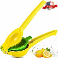 Clearance- Chefbar Quality Metal Lemon Lime Squeezer Manual Citrus Press Juicer