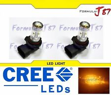 CREE LED 30W 9005 HB3 Orange Amber TWO BULB HEAD LIGHT DRL QUALITY JDM REPLACE K