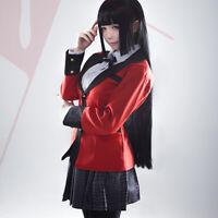 Animer Cosplay Costume Jabami Yumeko Sets Superior Quality Anime Conventio Yf