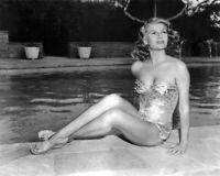 American Actress RITA HAYWORTH Glossy 8x10 Photo Print Swimsuit Model Poster