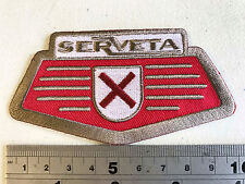 Serveta (Lambretta) Horncast Patch  - Embroidered - Iron or Sew On