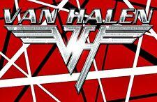 """Van Halen Old Skool Vinyl Bumper Sticker 3.25"""" Rock n Roll Hippie Biker"""