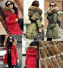 2017 Raccoon Fur Collar Winter Womens Duck Down Coat Jacket Puffer parka Outwear