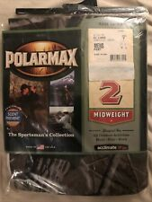 Polarmax Men's Mid Weight Base Layer Pants Acclimate Dry 2XL Camp Scent Prevent