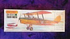 MATCHBOX 1:32 DH-82A/C TIGER MOTH Vintage Model Kit PK-505 COMPLETE & UNSTARTED