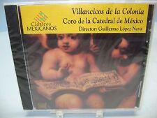 VILLANCICOS de la COLONIA Coro de la Catedral de Mexico/Nava,  Spartacus NEW