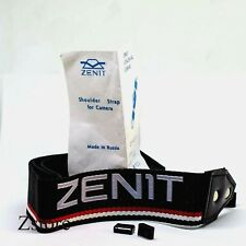 Brand NEW Retro ZENIT strap KMZ black white and red original stripes, belt