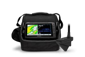 93SV Panoptix LiveScope Ice Fishing Bundle - Includes ECHOMAP UHD 93sv