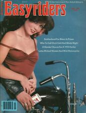1979 April Easyriders - Vintage Motorcycle Magazine with David Mann Poster