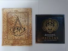 Assassin's Creed Origins Soundtrack CD New + MAP Free Worldwide Shipping